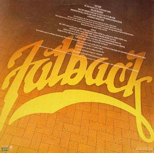 Back Cover Album Fatback - On The Floor With Fatback