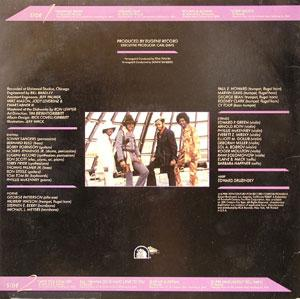 Back Cover Album The Chi-lites - Heavenly Body