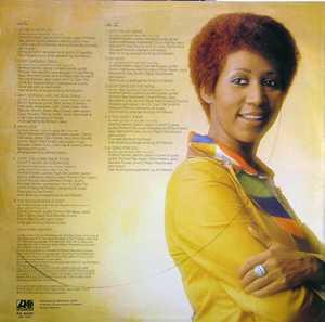 Back Cover Album Aretha Franklin - Let Me In Your Life