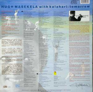 Back Cover Album Hugh Masekela - Tomorrow