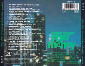 Back Cover Album Various Artists - Mo' Money (Original Motion Picture Soundtrack)