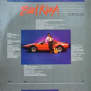 Back Cover Album Earl Klugh - Low Ride