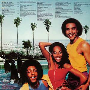 Back Cover Album Shalamar - Big Fun