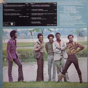 Back Cover Album The Temptations - All Directions