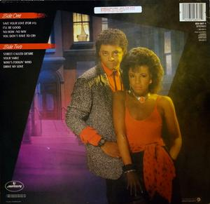 Back Cover Album René And Angela - Street Called Desire