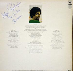 Back Cover Album Stanley Clarke - School Days