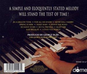Back Cover Album George Duke - In A Mellow Tone