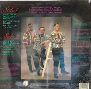 Back Cover Album The Chi-lites - Just Say You Love Me