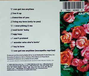 Back Cover Album Something Special - Something Special