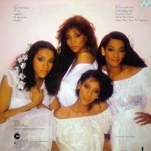 Back Cover Album Sister Sledge - The Sisters