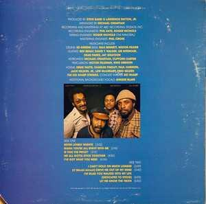 Back Cover Album The Four Tops - Night Lights Harmony