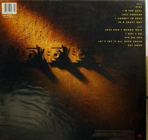 Back Cover Album Howard Hewett - I Commit To Love
