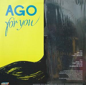 Back Cover Album Ago - For You