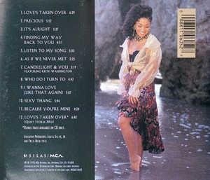 Back Cover Album Chanté Moore - Precious