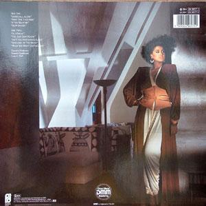 Back Cover Album Phyllis Hyman - Living All Alone