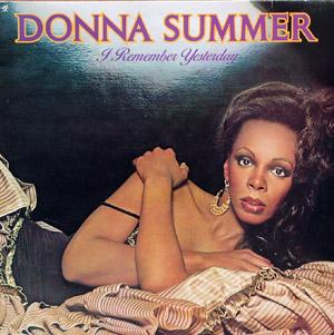 Back Cover Album Donna Summer - I Remember Yesterday