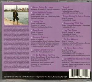 Back Cover Album Darrin Houston - Never Going To Leave