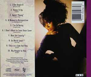 Back Cover Album B Angie B - B Angie B