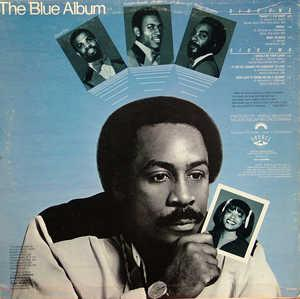 Back Cover Album Harold Melvin & The Blue Notes - The Blue Album
