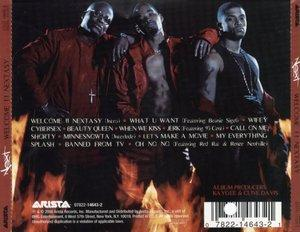Back Cover Album Next - Welcome II Nextasy
