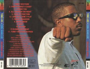 Back Cover Album Tone Loc - Cool Hand Loc