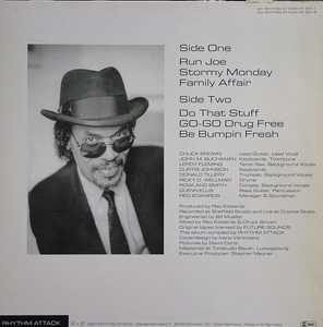 Back Cover Album Chuck Brown And The Soul Searchers - Any Other Way To Go?