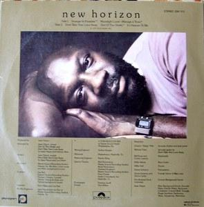 Back Cover Album Isaac Hayes - New Horizon