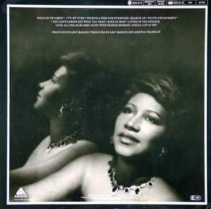 Back Cover Album Aretha Franklin - Love All The Hurt Away