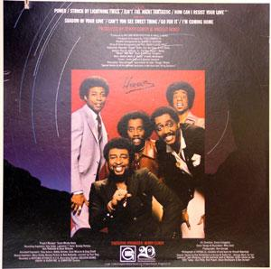 Back Cover Album The Temptations - Power