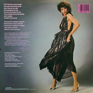 Back Cover Album Phyllis Hyman - Can't We Fall In Love Again