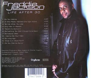 Back Cover Album Freddie Jackson - Life After 30