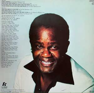 Back Cover Album Joe Tex - He Who Is Without Funk Cast The First Stone