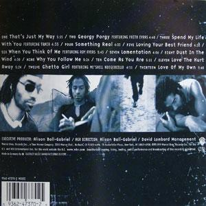 Back Cover Album Eric Benét - Day In The Life