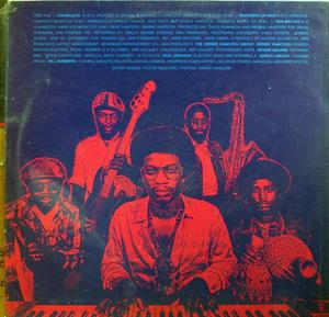 Back Cover Album Herbie Hancock - Head Hunters