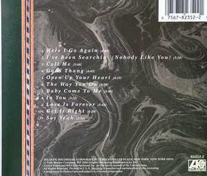 Back Cover Album Glenn Jones - Here I Go Again