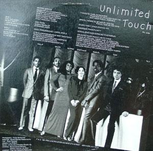 Back Cover Album Unlimited Touch - Unlimited Touch
