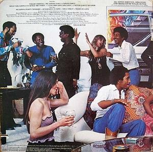Back Cover Album Willie Hutch - Havin' A House Party