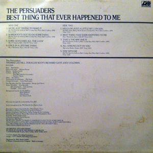 Back Cover Album The Persuaders - Best Thing That Ever Happened To Me