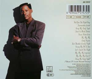 Back Cover Album Johnny Gill - Johnny Gill