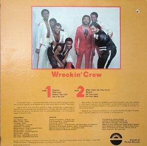 Back Cover Album Wreckin' Crew - Pixie Dust