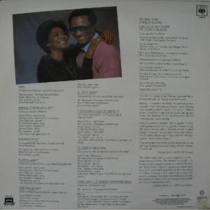 Back Cover Album Ramsey Lewis - With Nancy Wilson: The Two Of Us