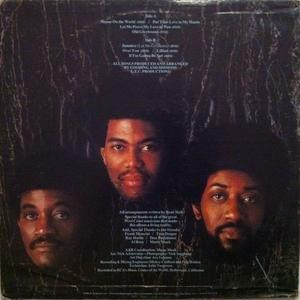 Back Cover Album The Main Ingredient - Shame On The World