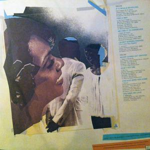 Back Cover Album Jerry Butler - With Thelma Houston: Two To One