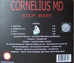 Back Cover Album Cornelius Md - Step Baby