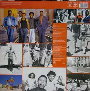 Back Cover Album Wind & Fire Earth - Touch The World