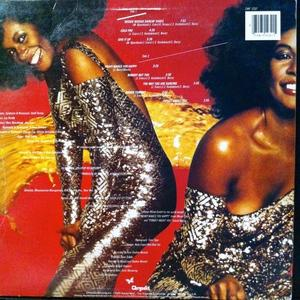 Back Cover Album Claudja Barry - Boogie Woogie Dancin' Shoes