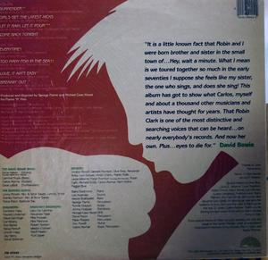 Back Cover Album Robin Clark - Surrender