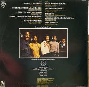 Back Cover Album The Stylistics - Once Upon A Juke Box