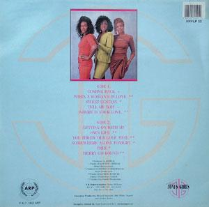 Back Cover Album The Jones Girls - Coming Back