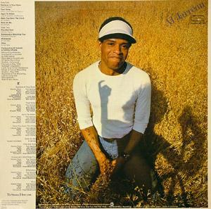 Back Cover Album Al Jarreau - Glow